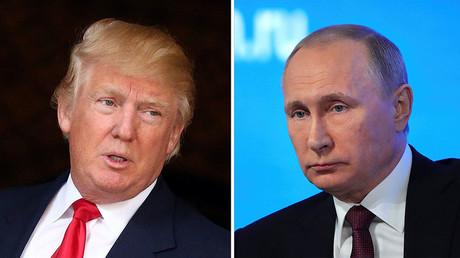 U.S. President-elect Donald Trump (L), Russian President Vladimir Putin (R) © Reuters