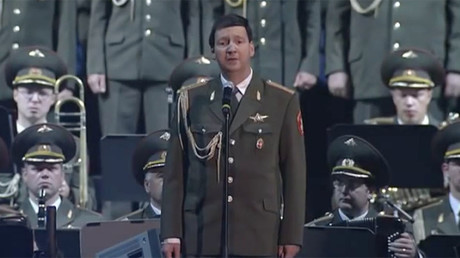 Alexandrov choir sings 'God bless America' in tribute posted by Russian Embassy in US (VIDEO)