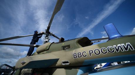 A Ka-226T light multipurpose helicopter © Maksim Blinov