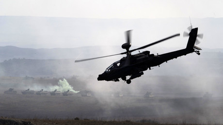 Apache helicopter crash near Houston kills 2 Army National Guard soldiers