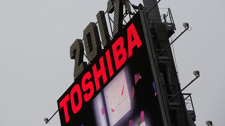 Toshiba stock nosedives amid rating cuts & billions in losses warning