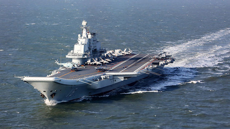 The Liaoning, China's aircraft carrier. ©AFP