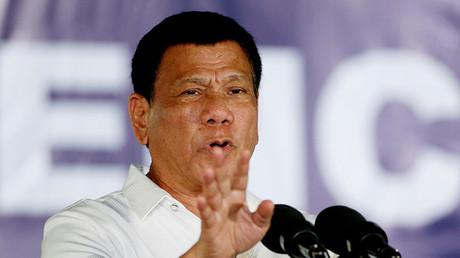 Philippine President Rodrigo Duterte. ©Erik De Castro
