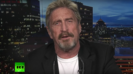 'Not the Russians': John McAfee talks hacking allegations, cybersecurity with Larry King (VIDEO)
