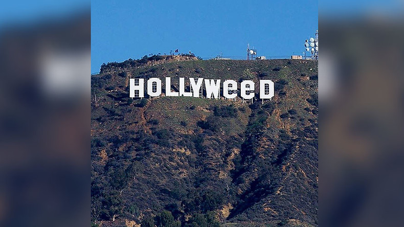 Prankster changes Hollywood sign to read 'Hollyweed' (PHOTOS)