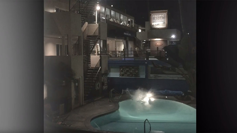 Daredevil's failed pool jump ends with horrific injuries (GRAPHIC VIDEO)