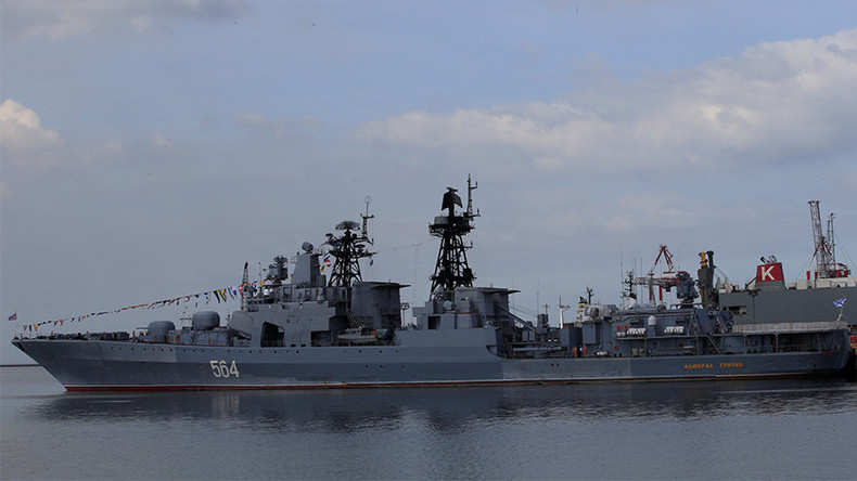 Russian warships dock in Philippines on goodwill visit, look forward to joint drills