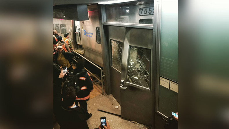 103 injured in train derailment at Brooklyn's Atlantic Terminal (VIDEOS, PHOTOS)