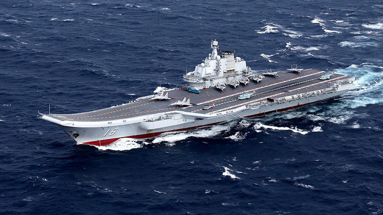 Beijing says its carrier group conducting 'scientific research & weapons tests'
