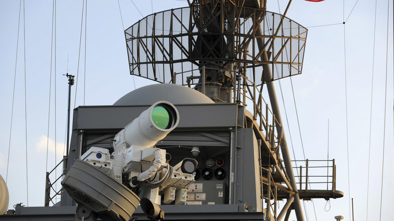 Prototype laser weapon developed with £30mn of army funding