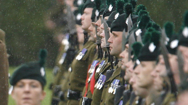 Poverty draft: Is high unemployment pushing Irish citizens into the British Army?
