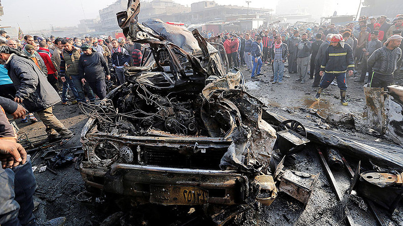 At least 20 killed, over 60 injured in two suicide blasts in east Baghdad