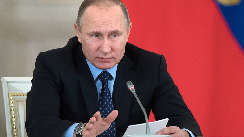 Putin orders lending rate slashed for Russian regions