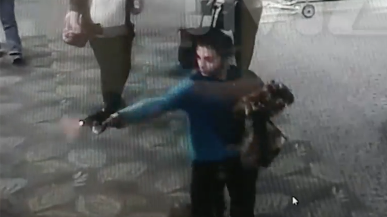 Moment Fort Lauderdale attacker opens fire caught on camera (VIDEO)