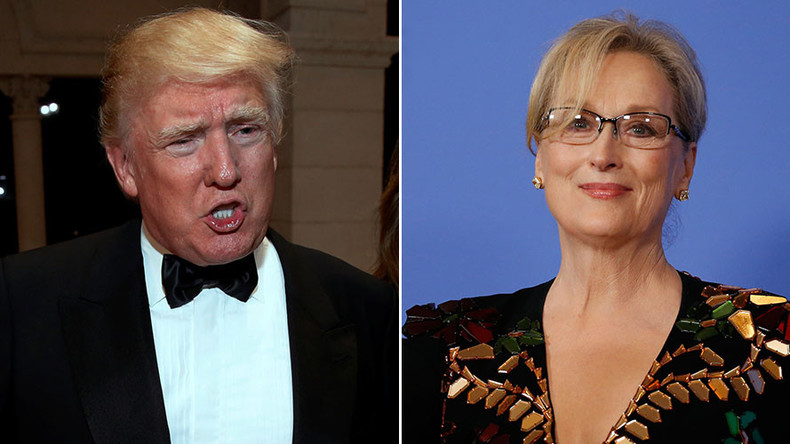 Trump brands Meryl Streep 'over-rated, Hillary flunky' after Golden Globes speech