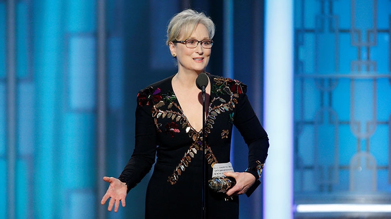 Where was Meryl Streep when Obama was prosecuting whistleblowers & bombing weddings?