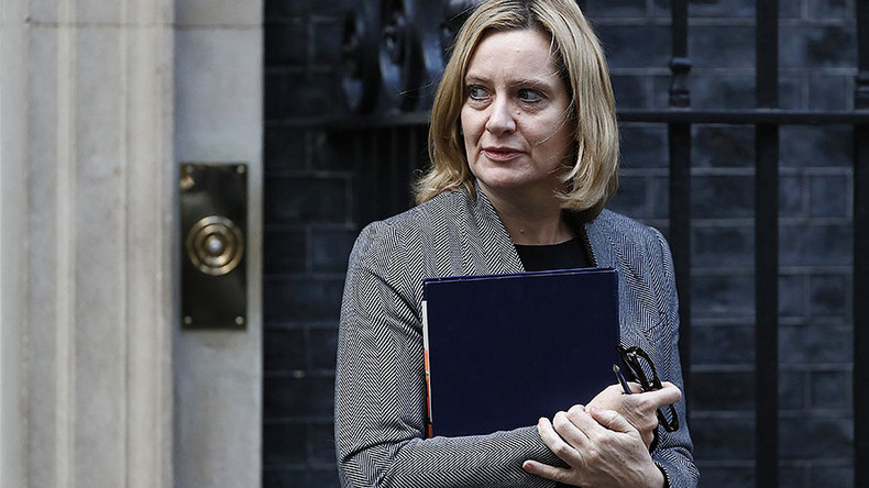 Home secretary's foreign workers speech was 'hate incident,' police investigation finds