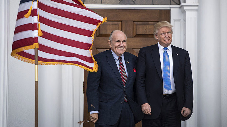 'Can Giuliani even turn on a computer?' Trump's cyber security pick baffles internet