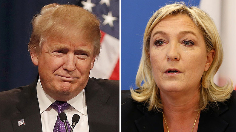 French pres candidate Le Pen spotted in Trump Tower (PHOTOS)