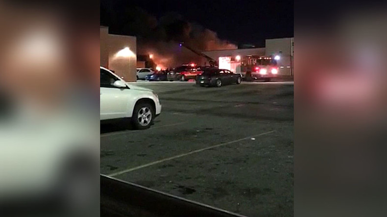 Reports of explosion, fire at DDOT bus terminal in Detroit, Michigan