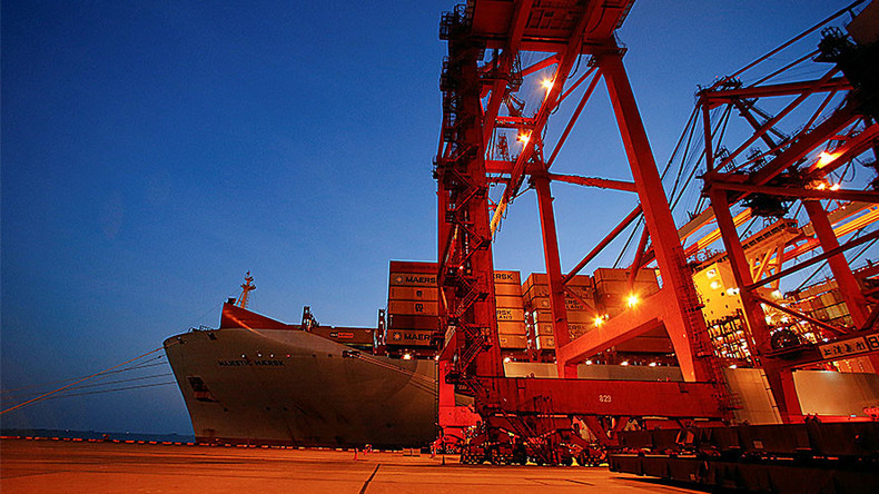 Chinese exports fall most since 2009 amid fears of US trade war
