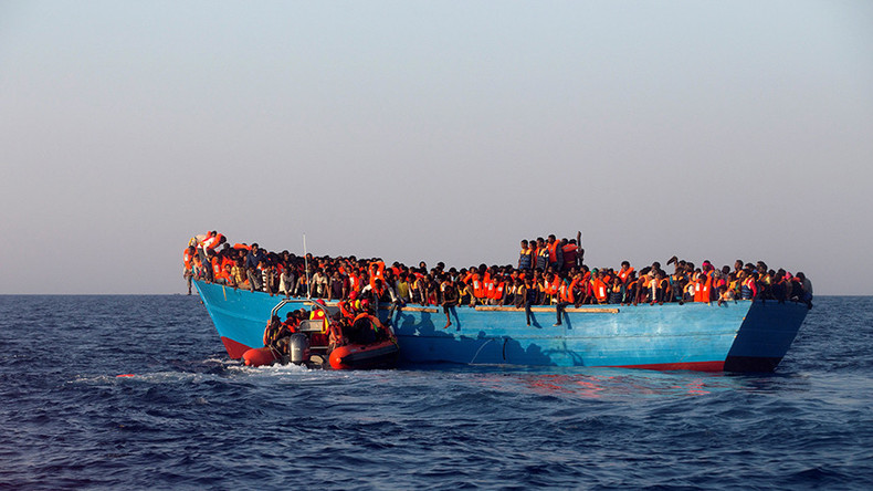 Only 4 survive after boat with 110 migrants sinks off Libyan coast