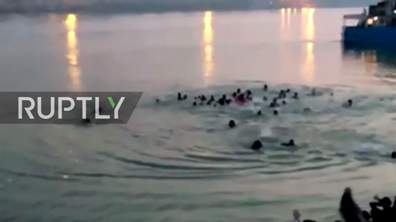 India boat tragedy: Dozens dead after vessel capsizes in Ganges river (VIDEO)