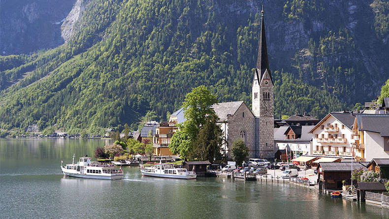 Austrian village brings in bouncers to 'protect' church services from rude tourists