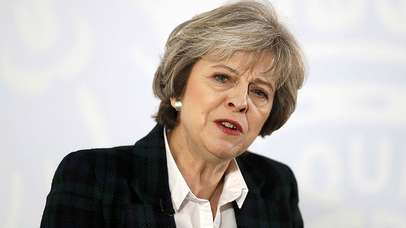 Theresa May wants to leave single market, protect rights of EU nationals post-Brexit
