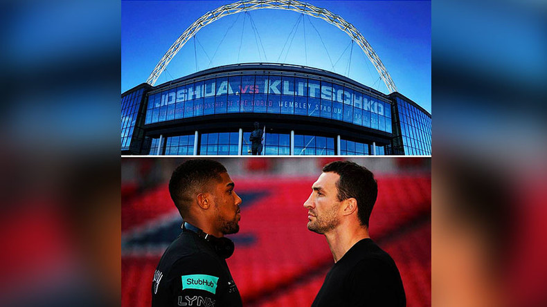 Joshua-Klitschko fight smashes Wembley record with 80,000 tickets sold