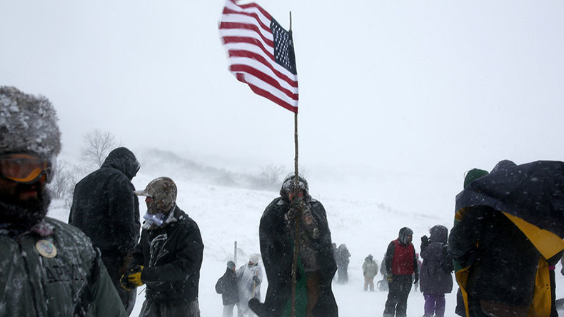 Protesters tear gassed, 3 arrested in latest Dakota Access Pipeline protest