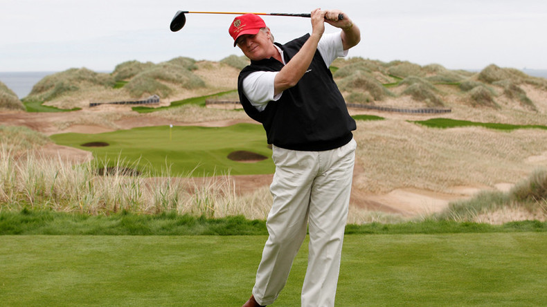 Trump could use UK trade deal to boost his golf resorts, warn ethics experts