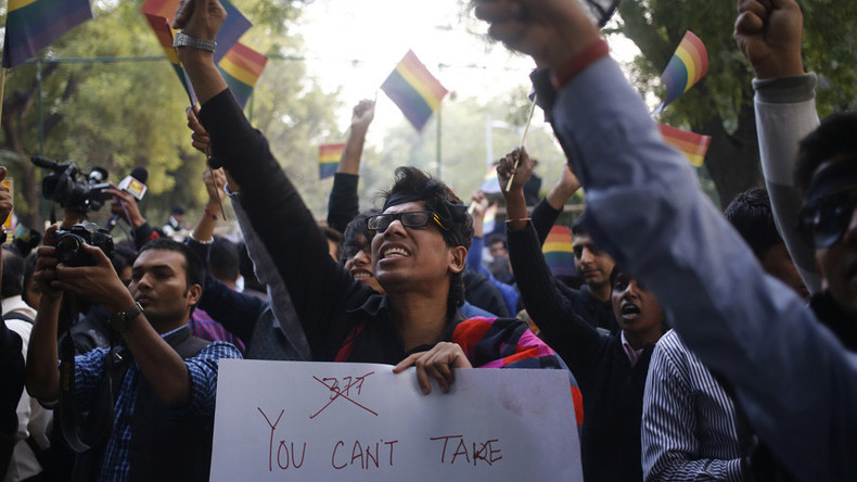 Gay Indian man threatened with 'corrective rape' by his own family