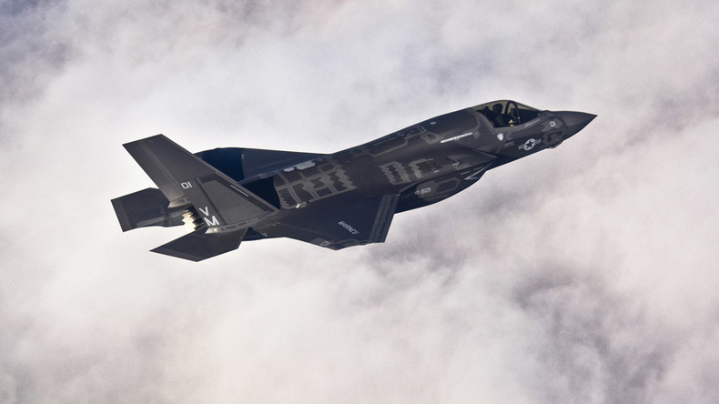 US F-35 fighter jets arrive at military base in Japan in 1st overseas deployment