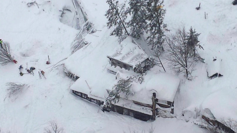 Many people feared dead in Italian hotel hit by avalanche after quake - reports