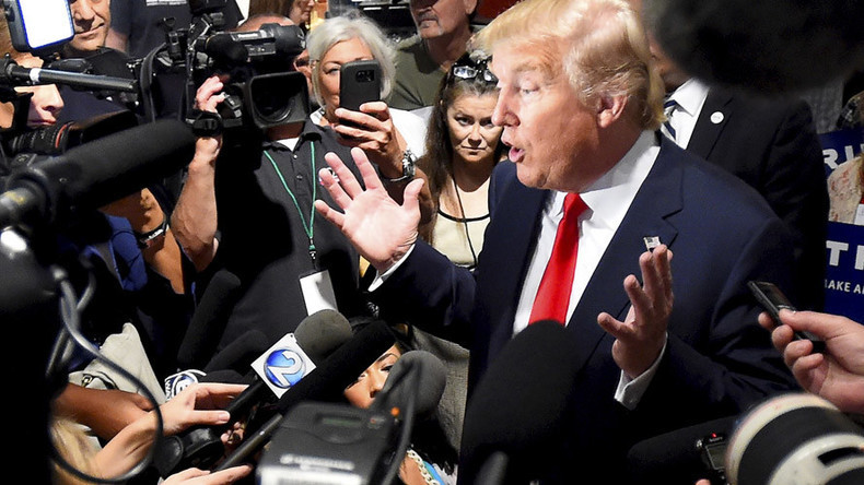 'Same US media that despises Donald Trump... helped get him elected'
