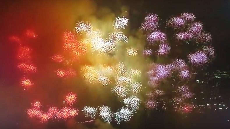 United States of Russia: Twitter explodes after Trump's inauguration fireworks spell 'USR' (VIDEO)