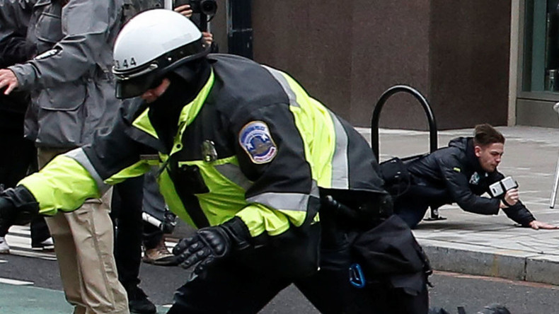 RT America reporter arrested while covering inauguration protests