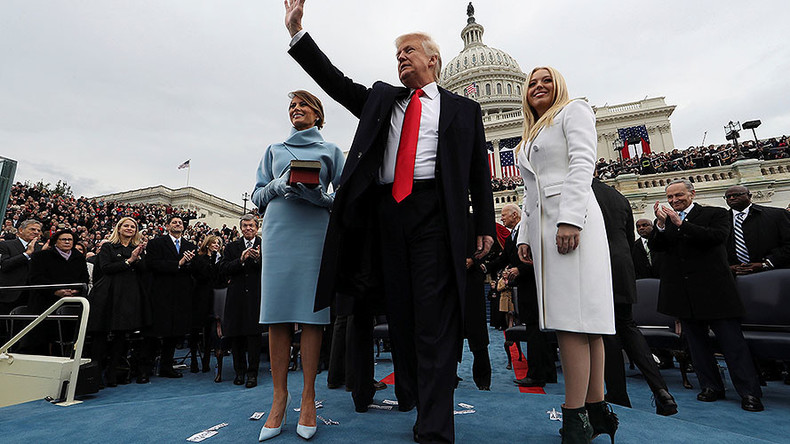 Trump's Twitter photo, presidential Batman villain 'quote' & other bizarre inauguration moments