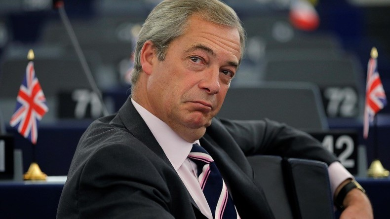 Former UKIP leader, Brexit crusader Nigel Farage hired by Fox News