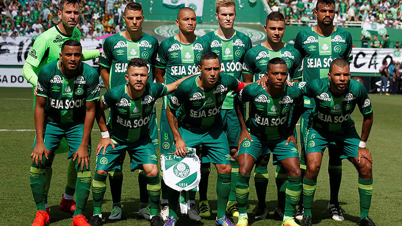 'Vamos Chape': Tragic Brazilian football team play first home game after air disaster (VIDEO, PHOTO)