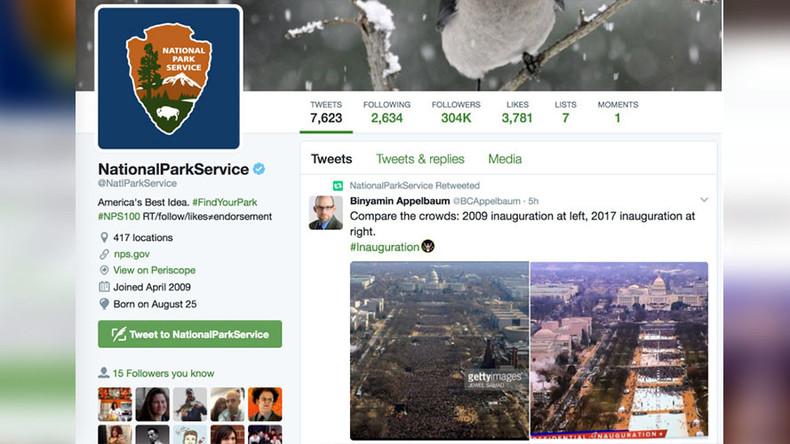 National Park Service 'regrets mistaken' less than positive Trump retweets