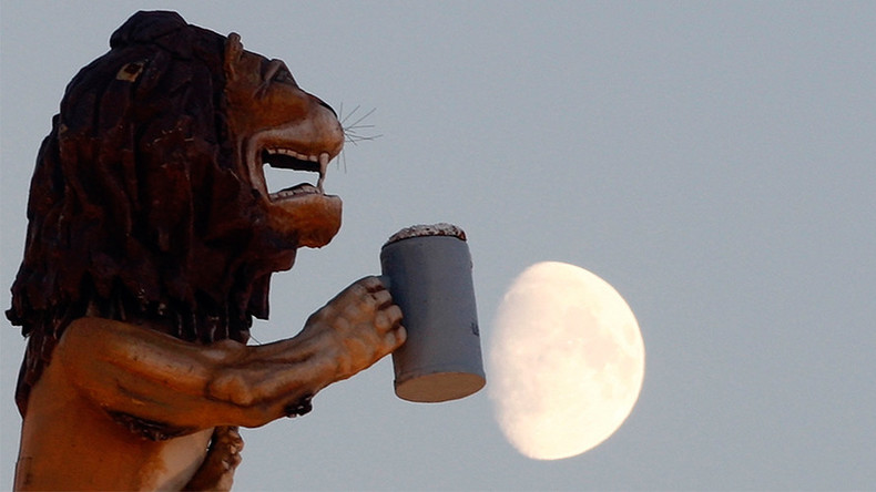 One giant hop for mankind: Lunar beer could soon be a reality