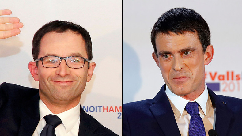 Ex-French PM Valls and his socialist rival to face off in final round of presidential primaries