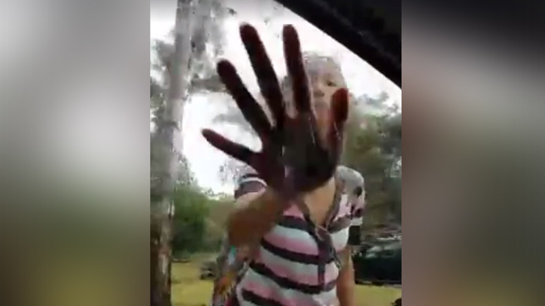 'Why you got a mask? Terrorist!' Woman charged after lashing out at Muslim in niqab (VIDEO)