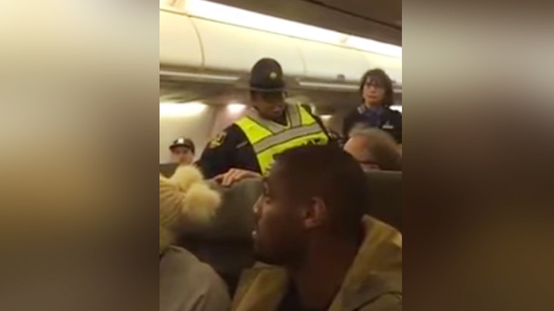 'You put his fingers on nuclear button': Woman thrown off plane for berating Trump supporter (VIDEO)