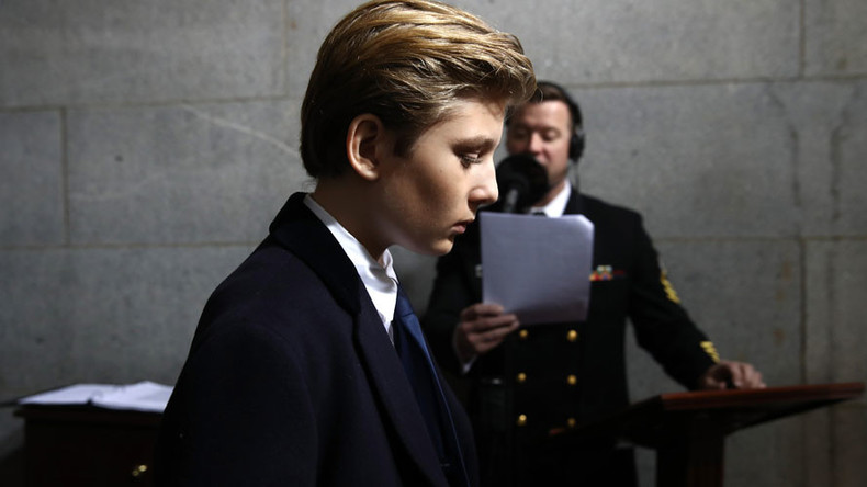 NBC comedy writer suspended after mocking Trump's 10yo son on Twitter