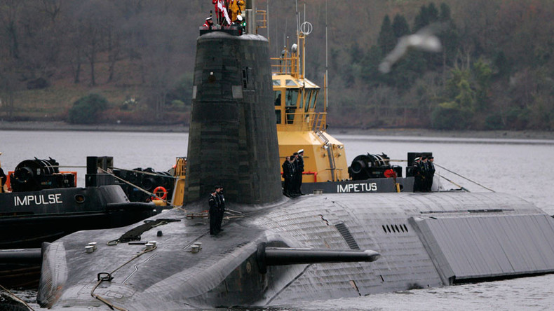 US asked UK to keep failed nuke Trident test secret – report