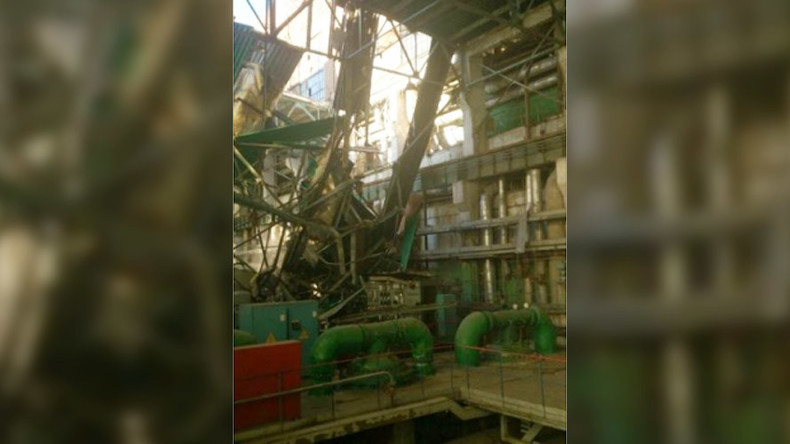 1 person killed in explosion at thermal power plant in central Russia