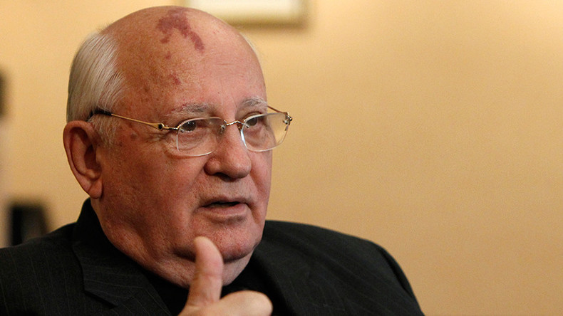 Amid new arms race, Putin & Trump must spearhead int'l law banning nuclear war – Gorbachev